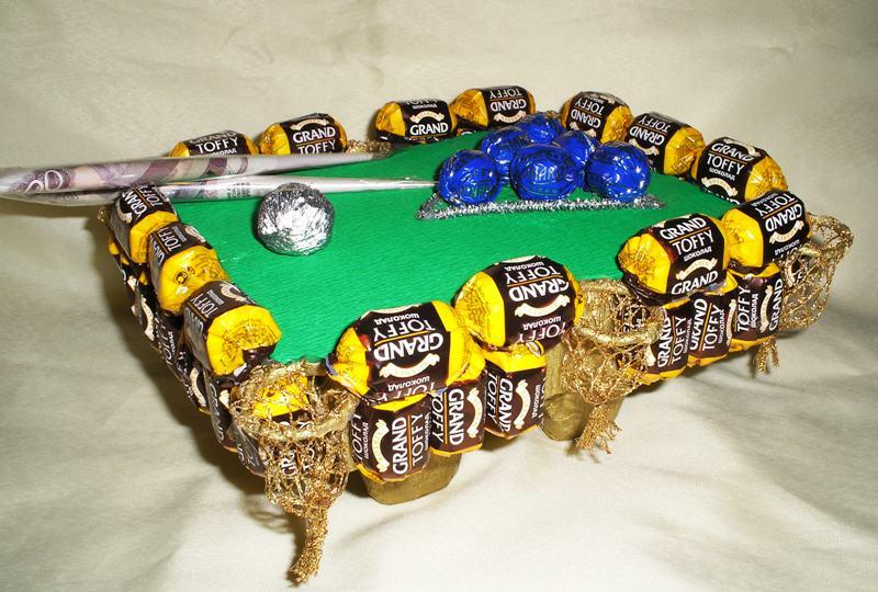 Сувениры из конфет своими руками 75